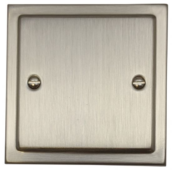 G&H Trimline Plate Satin Nickel